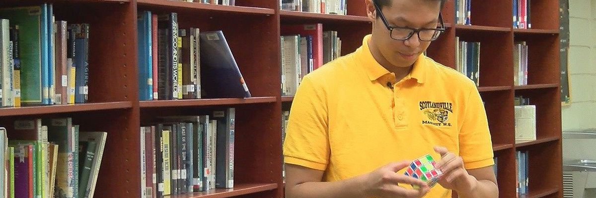 Teens solves Rubik's Cube in seconds, calls the challenge fun