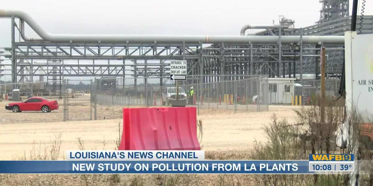 5 of nation's top 10 polluting plants are in La., new study shows; 12 in top 100