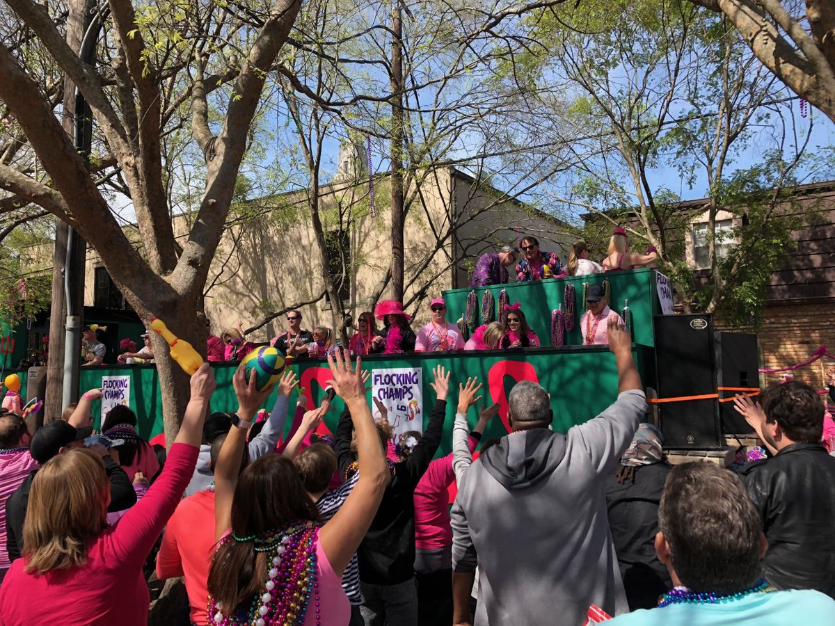 Spanish Town parade rolls through Baton Rouge for 40th anniversary