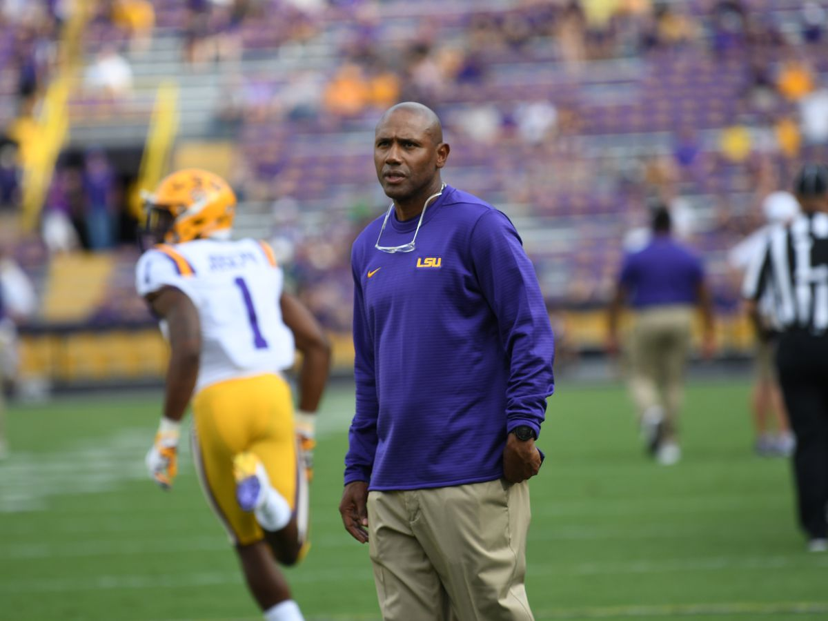 Reports say LSU's Corey Raymond to interview at Georgia