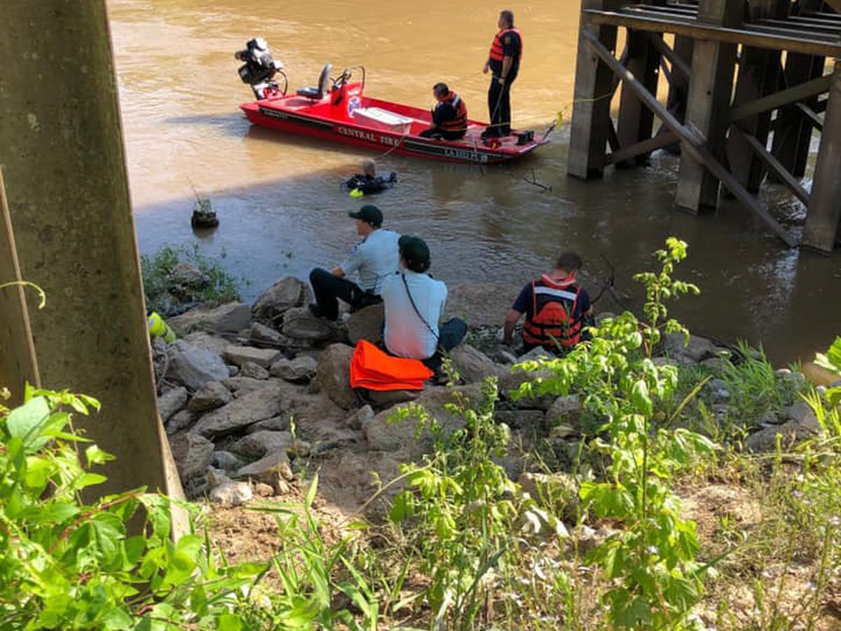 Multiple agencies respond to reported drowning in Amite River