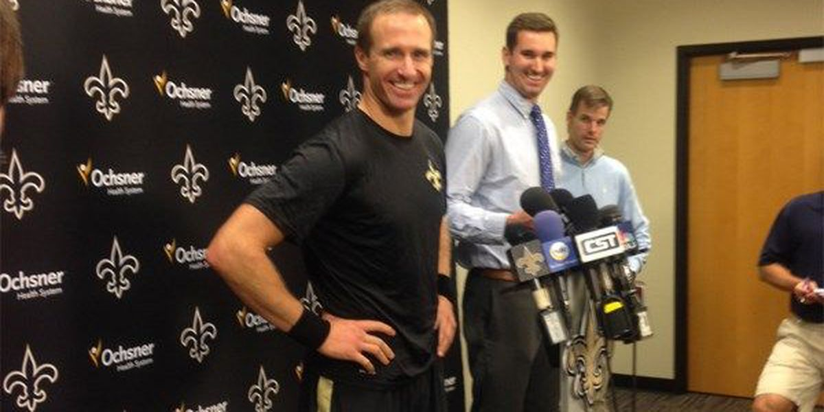 Brees, Saints agree on contract extension