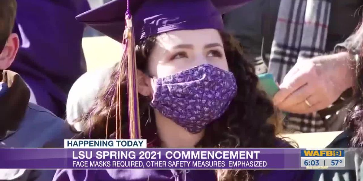 LSU Spring 2021 Commencement