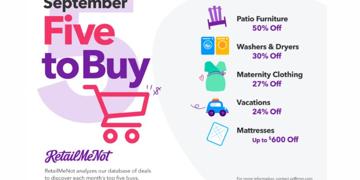YOUR MONEY: Experts talk about what's good to buy in September