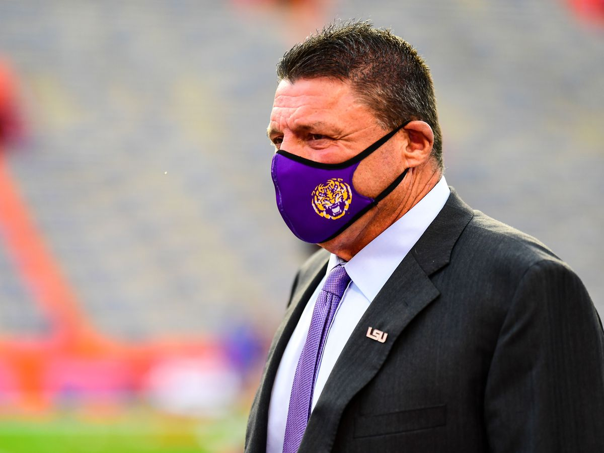 LSU head football coach Ed Orgeron issues statement to La. Senate committee, will not testify in person