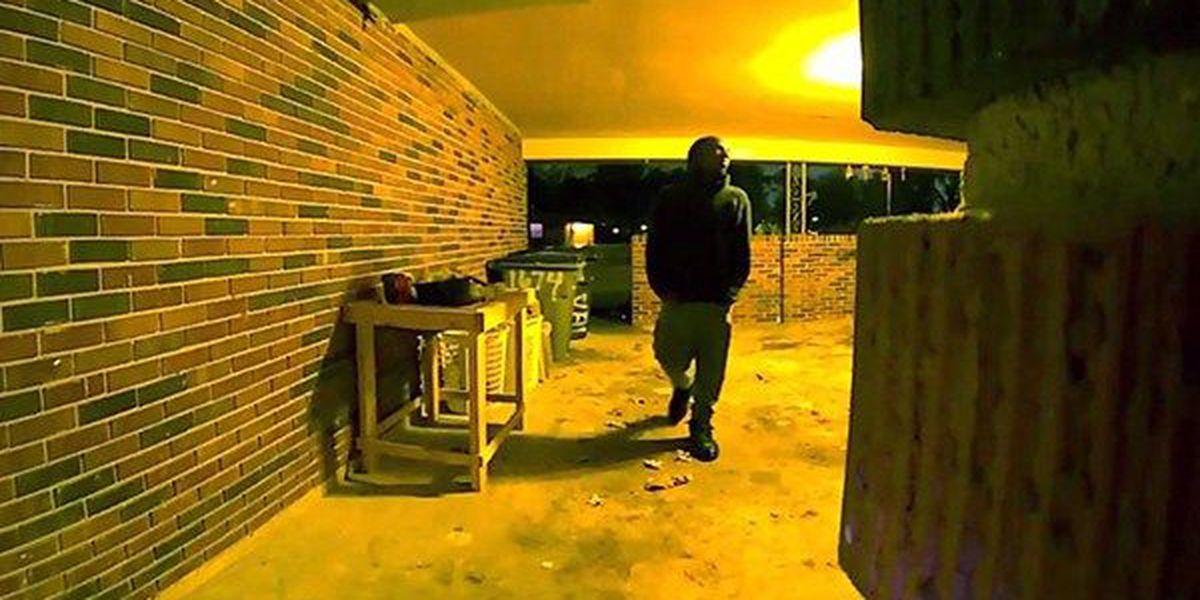 WANTED: Man rang doorbell, kicked in door before burglarizing house