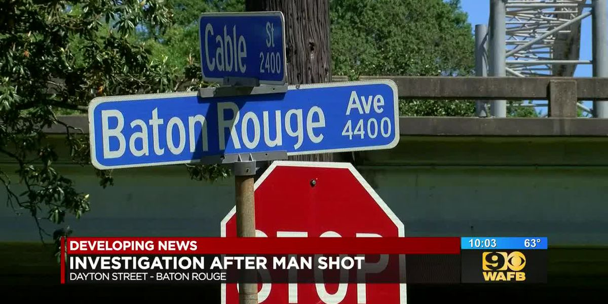 Police investigating Dayton Street shooting, victim found on Baton Rouge Ave. with serious injuries