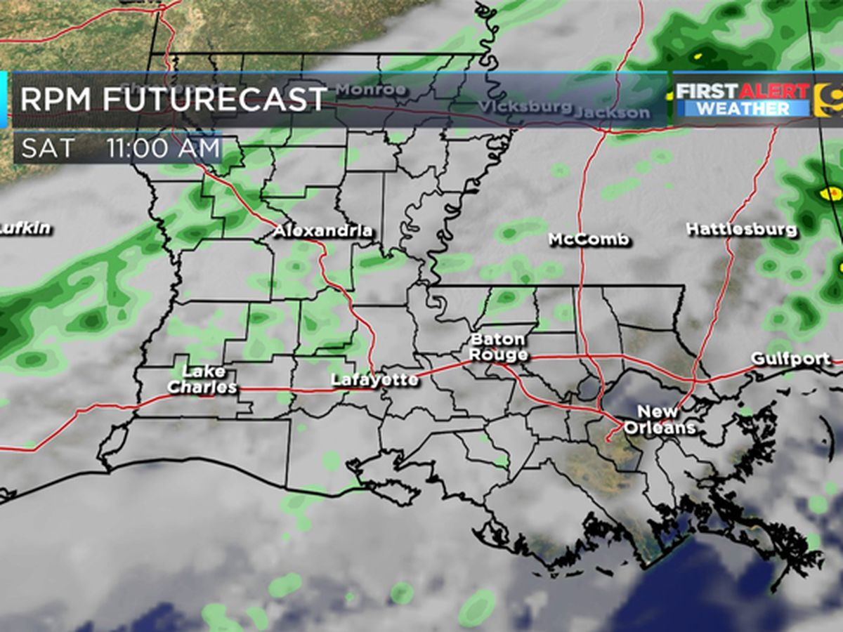 FIRST ALERT FORECAST: Dry and cloudy Friday morning