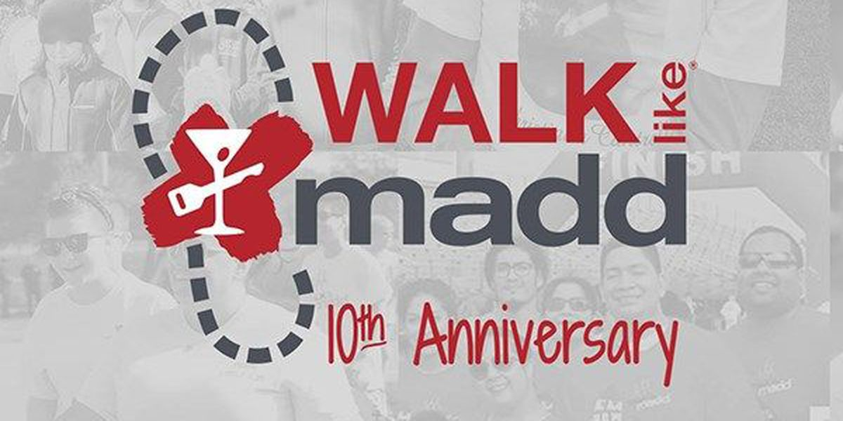 10th annual Walk Like MADD event happening Saturday