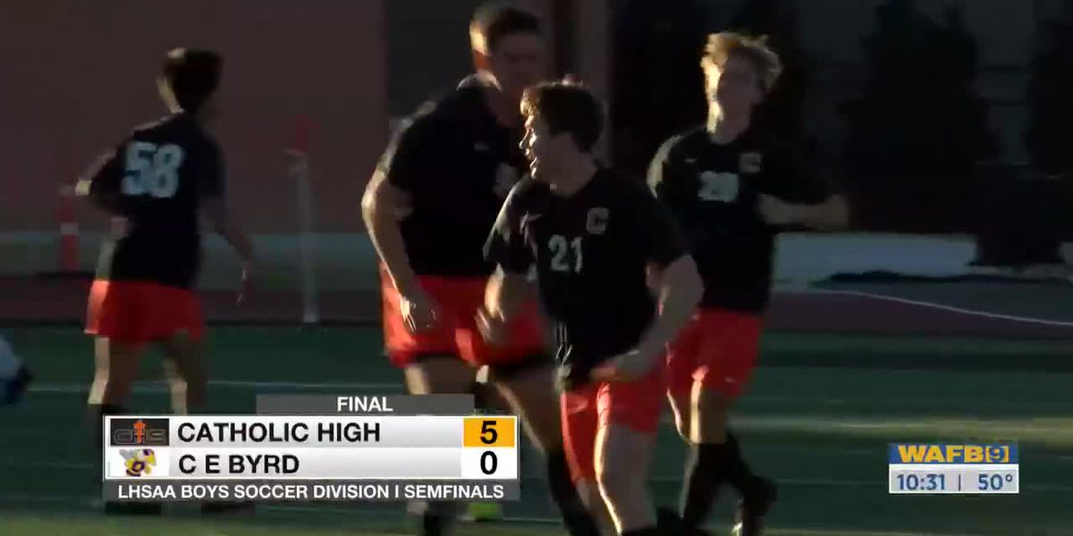 Catholic advances to Div. I boys' soccer state championship game