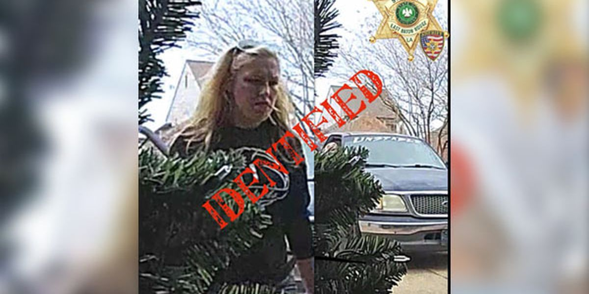 WANTED: Denham Springs woman wanted for package theft