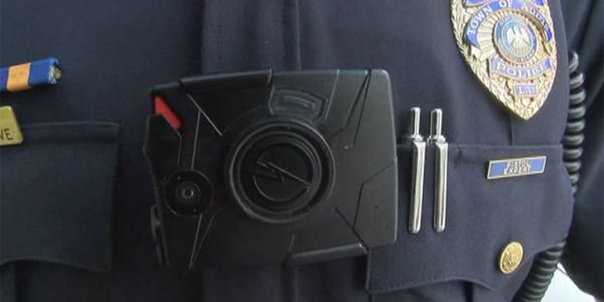 Brusly police officers getting body cameras