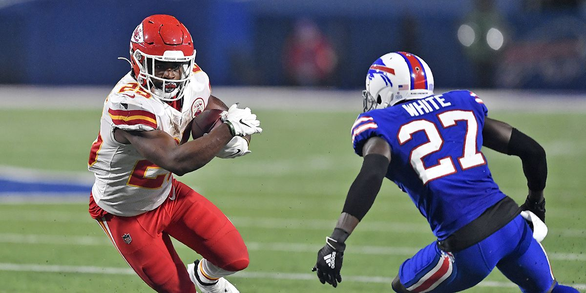 Former LSU RBs Clyde Edwards-Helaire, Darrel Williams help Chiefs run away from Tre'Davious White's Bills