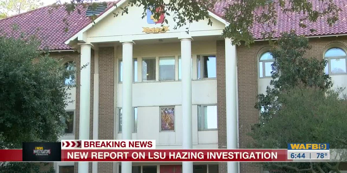 9NEWS INVESTIGATORS: Hazing investigation at LSU involves alleged alcohol and physical abuse, report says