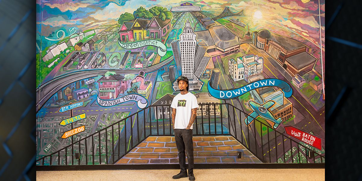 Mural that captures the spirit of the city unveiled in downtown Baton Rouge