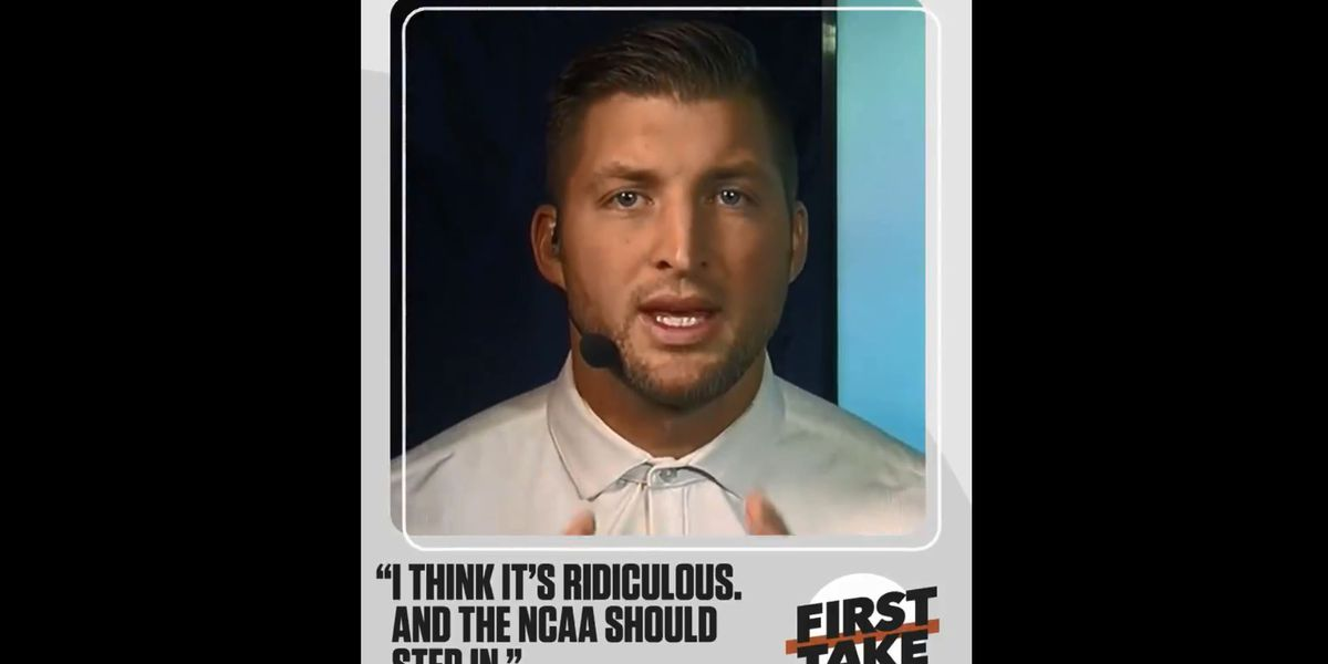 WATCH: Tim Tebow calls Devin White suspension 'ridiculous'