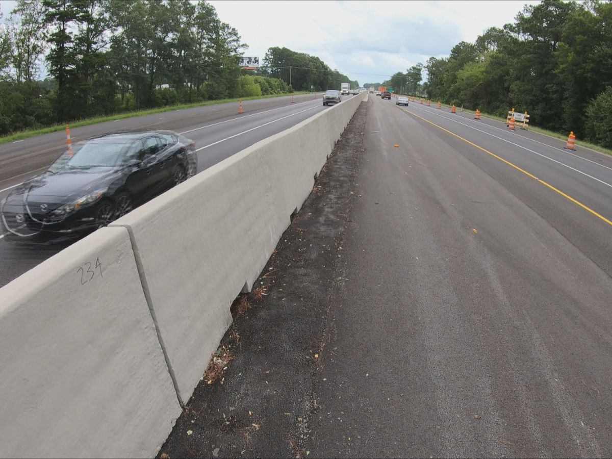New law requires interstate barriers have holes for drainage