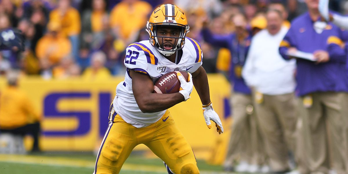 2020 NFL DRAFT: LSU RB Clyde Edwards-Helaire picked No. 32 overall by Kansas City Chiefs