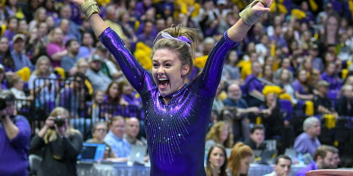 No. 5 LSU gymnastics returns to the PMAC to take on No. 30 NC State