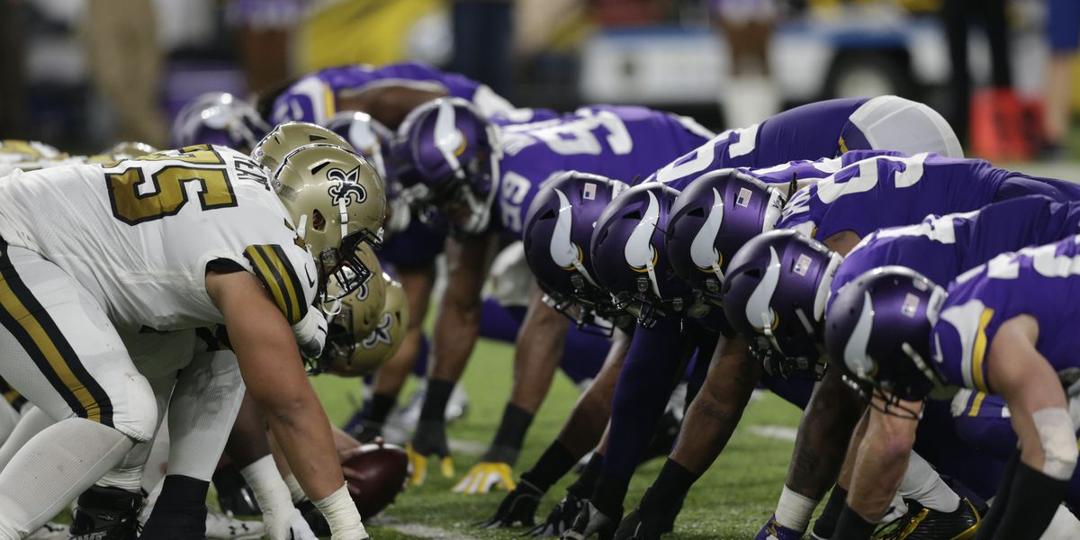 Familiarity for several Saints when they play Vikings