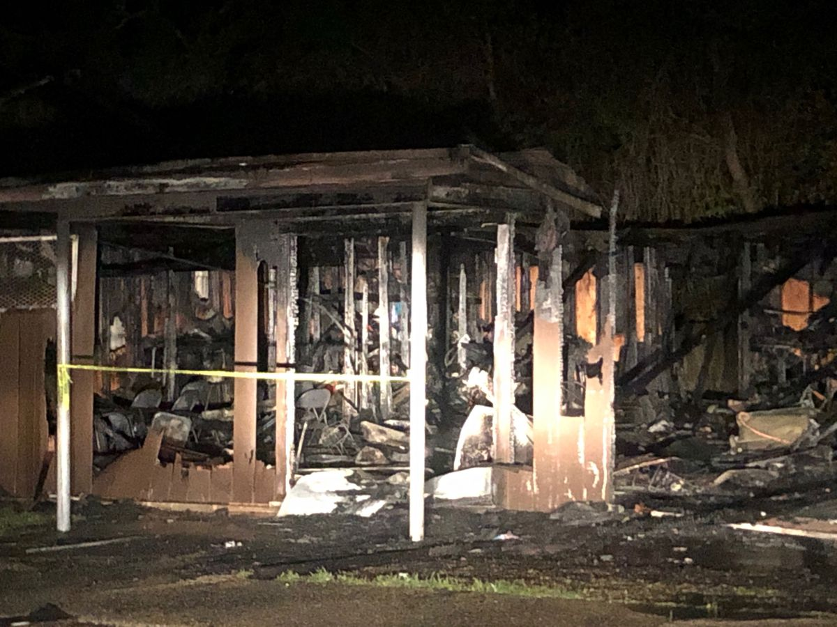 'The church is not a building': Pastor asks for forgiveness of suspected arsonist