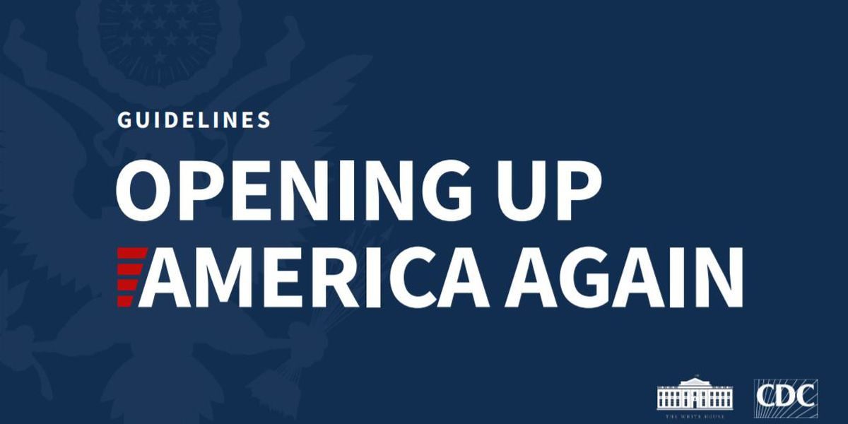 FAQ: Guidelines for Opening America Again