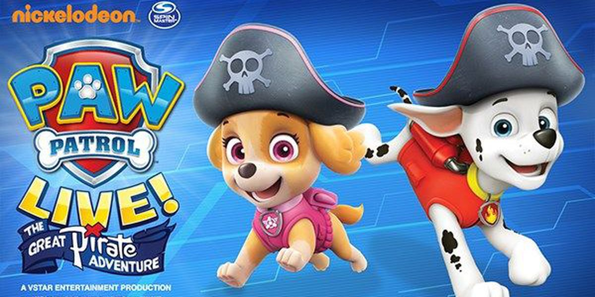 PAW Patrol Live! 'Great Pirate Adventure' coming to Baton Rouge in November
