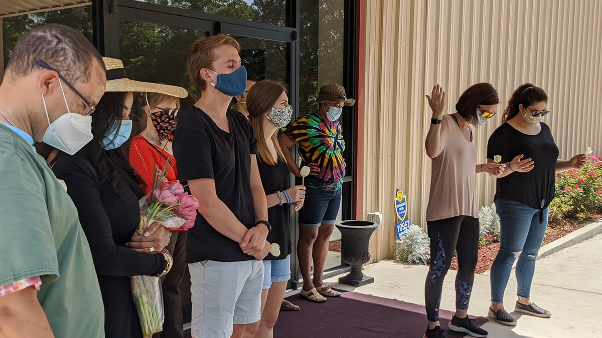 Community unites in prayer over unrest across country
