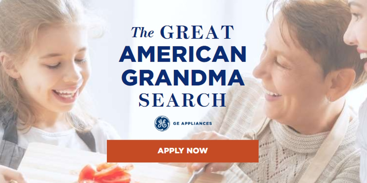 GE Appliances offers $50k for 'Great American Grandma' position