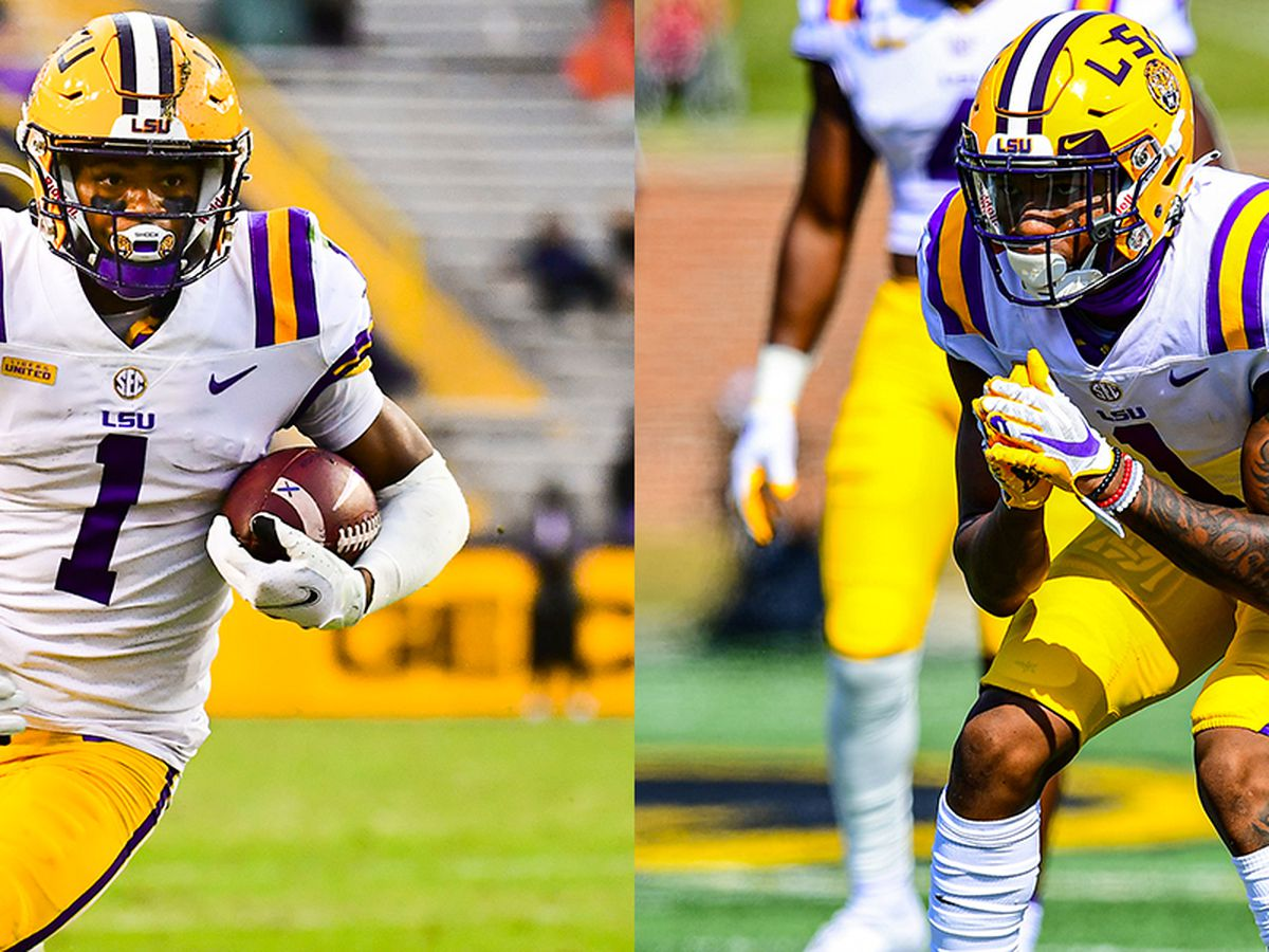 LSU's Boutte, Ricks named to FWAA All-America Team