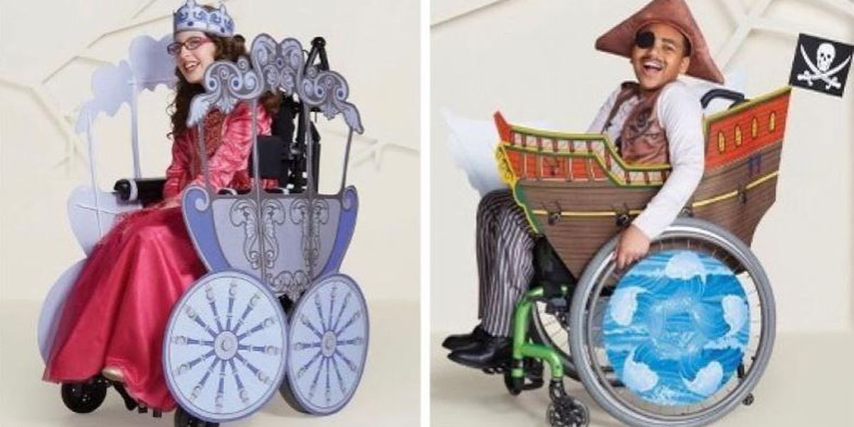 Target unveils wheelchair-friendly costumes for kids