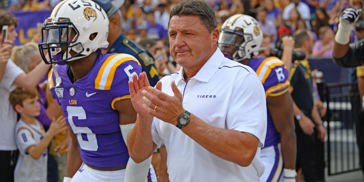 Orgeron tells radio station he spoke with LSU football players about changes, solutions; they decide to all register to vote