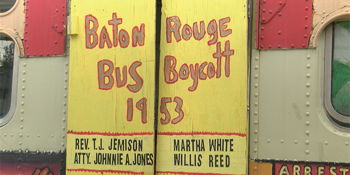 California student reveals a piece of Baton Rouge history