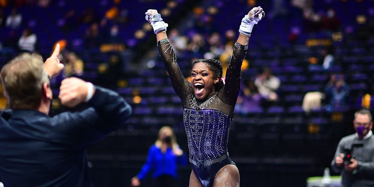 No. 2 LSU scores its first 198 this season against No. 1 Florida