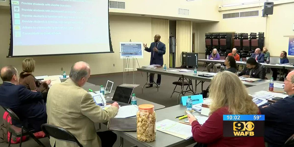 EBR School Board discusses plan to close some schools, reassign students