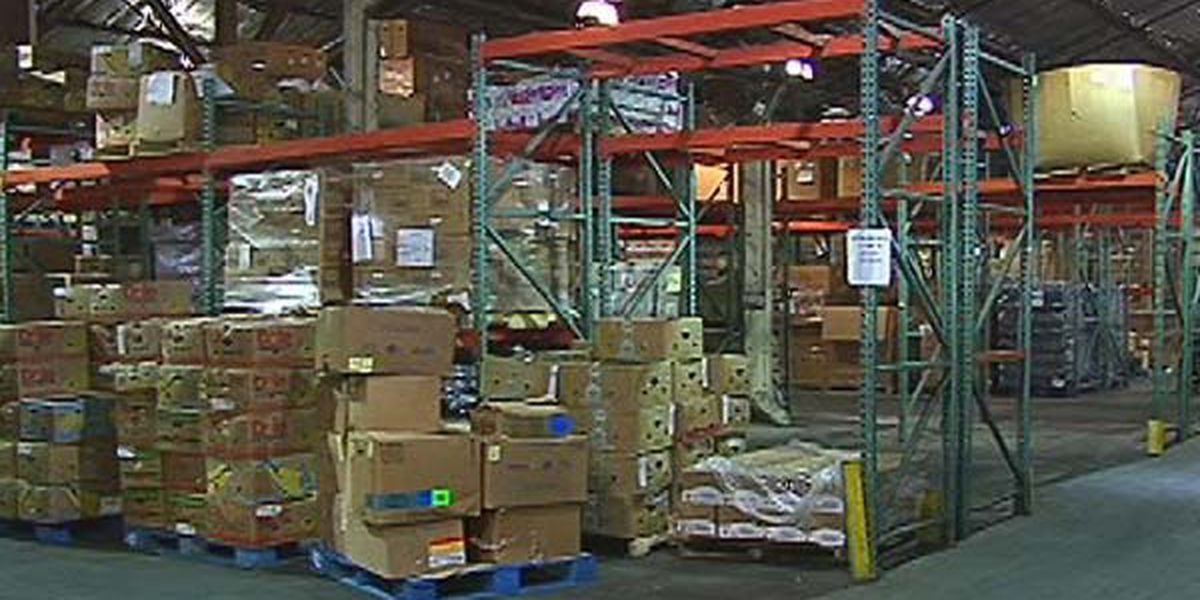HOLIDAY HELPING HANDS: Volunteers needed to sort and pack food donations for families in need