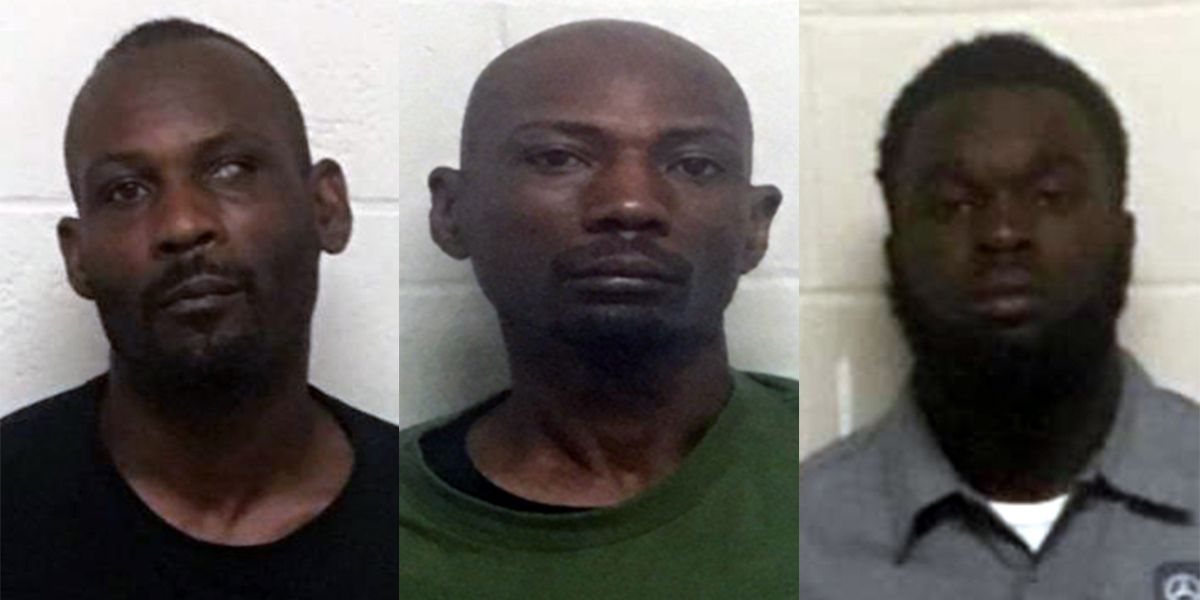 Three men arrested after security guard killed at Peyton's Lounge