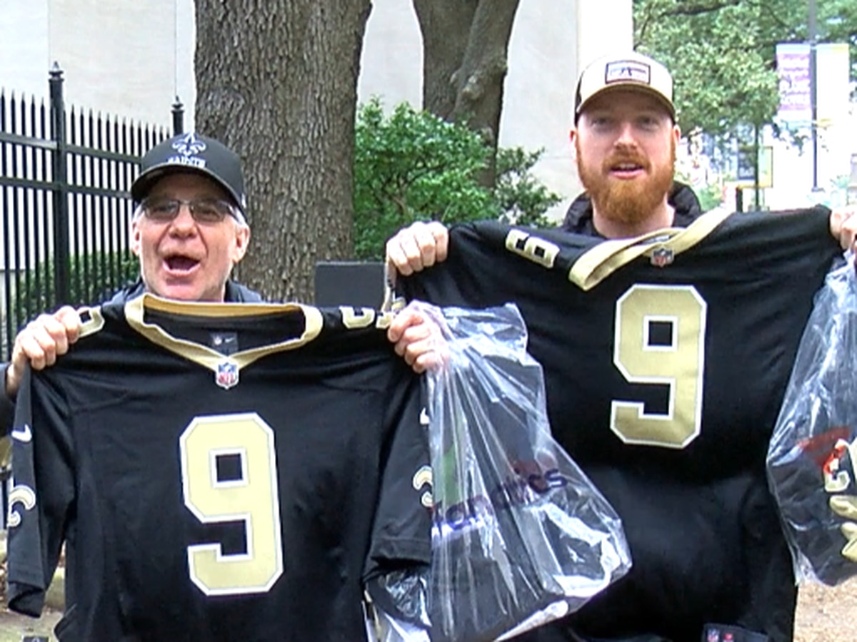 Saints fans flock from around the continent to New Orleans ahead of championship game