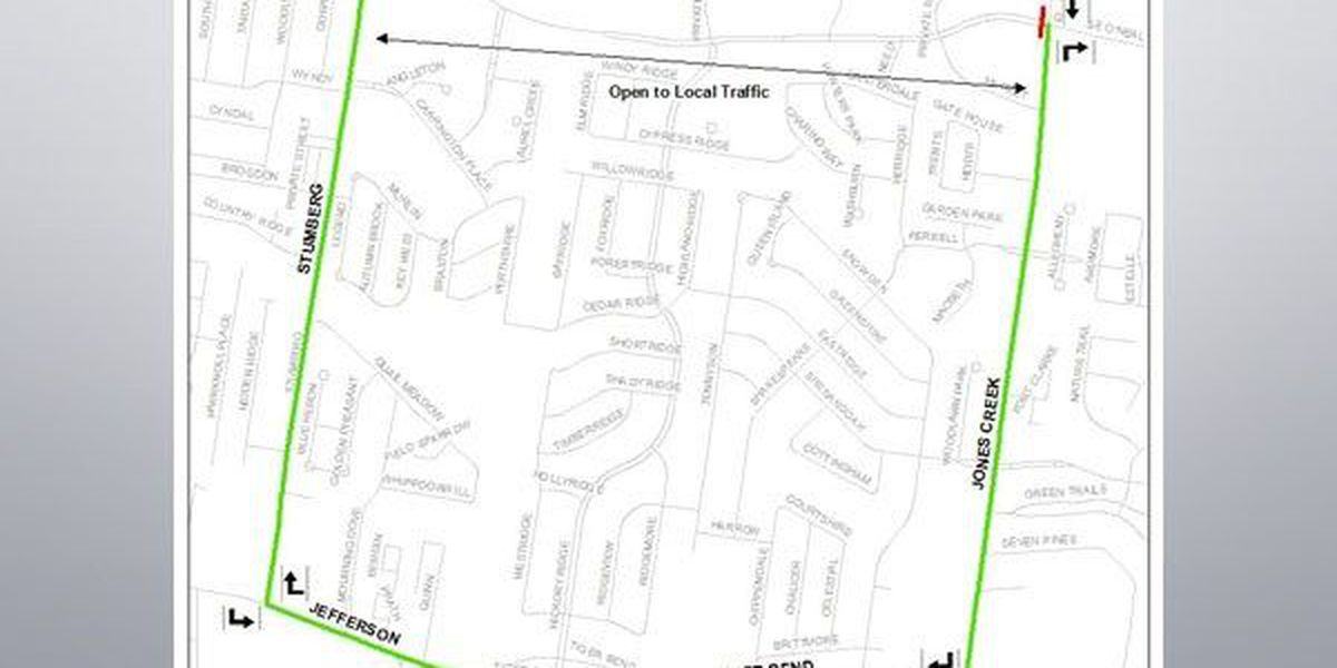 Portion ofCourseyBlvd to close for intersection improvements