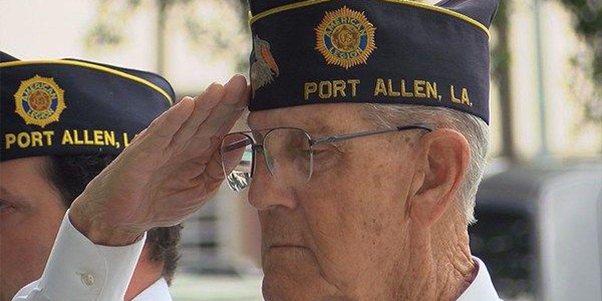 Port Allen honors fallen veterans in somber ceremony