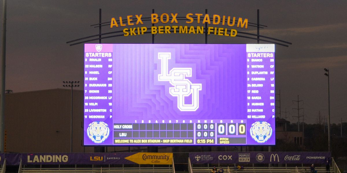 LSU baseball begins busy week Tuesday against Grambling