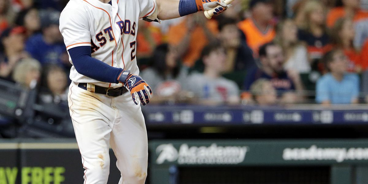 Houston Astros' Alex Bregman's generous tip to waitress goes viral