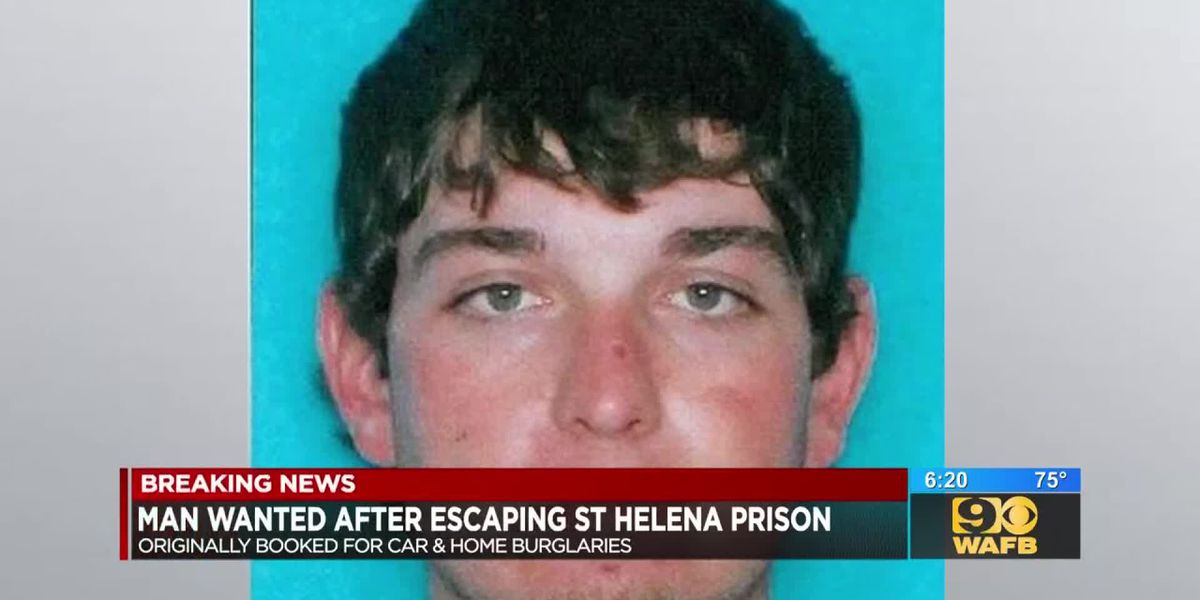St. Helena Parish authorities searching for escaped inmate