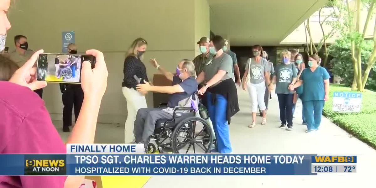 TPSO sgt. heads home from hospital