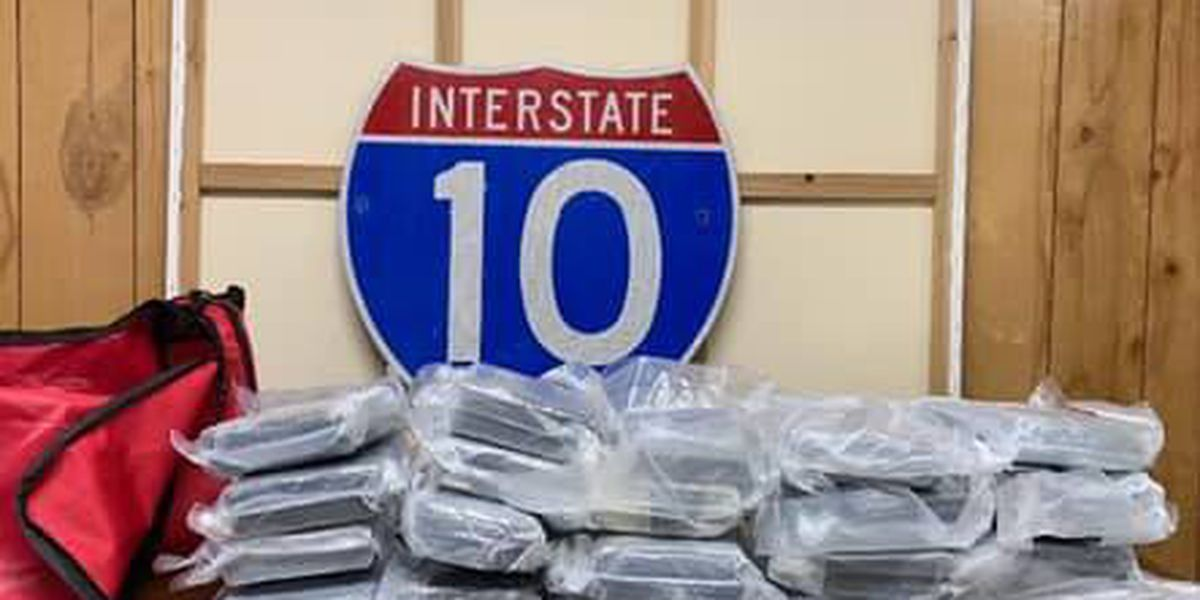 Police stop Florida man with over 50 pounds of cocaine near Port Allen