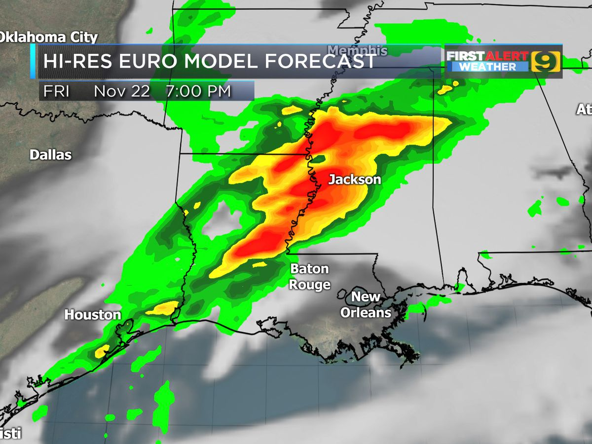 FIRST ALERT FORECAST: Rain returns late Friday into Saturday