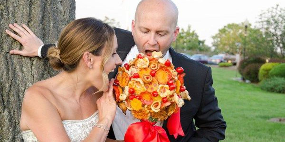 Pizza bouquet? It's a thing