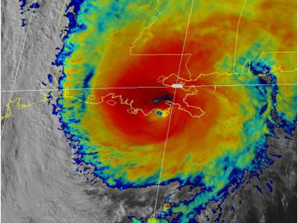 Official report upgrades Hurricane Zeta to Cat. 3, making it the strongest to make landfall so late in the season