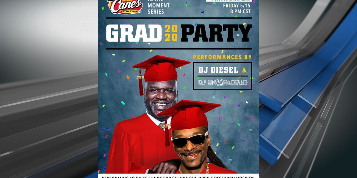Shaq and Snoop Dogg to host virtual graduation Friday