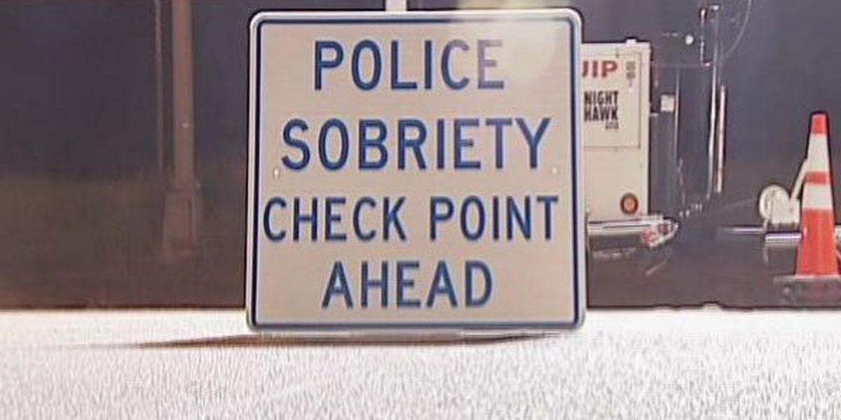 Sobriety checkpoint results in 2 DUI arrests